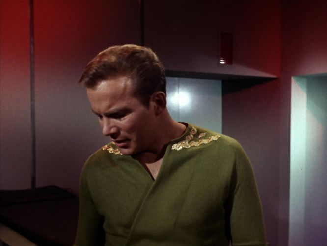 STAR TREK sci-fi action adventure television the-enemy-within (192) wallpaper