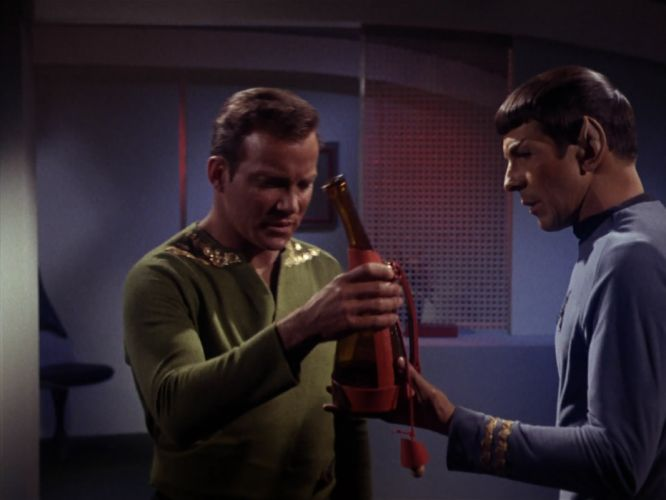 STAR TREK sci-fi action adventure television the-enemy-within (184) wallpaper