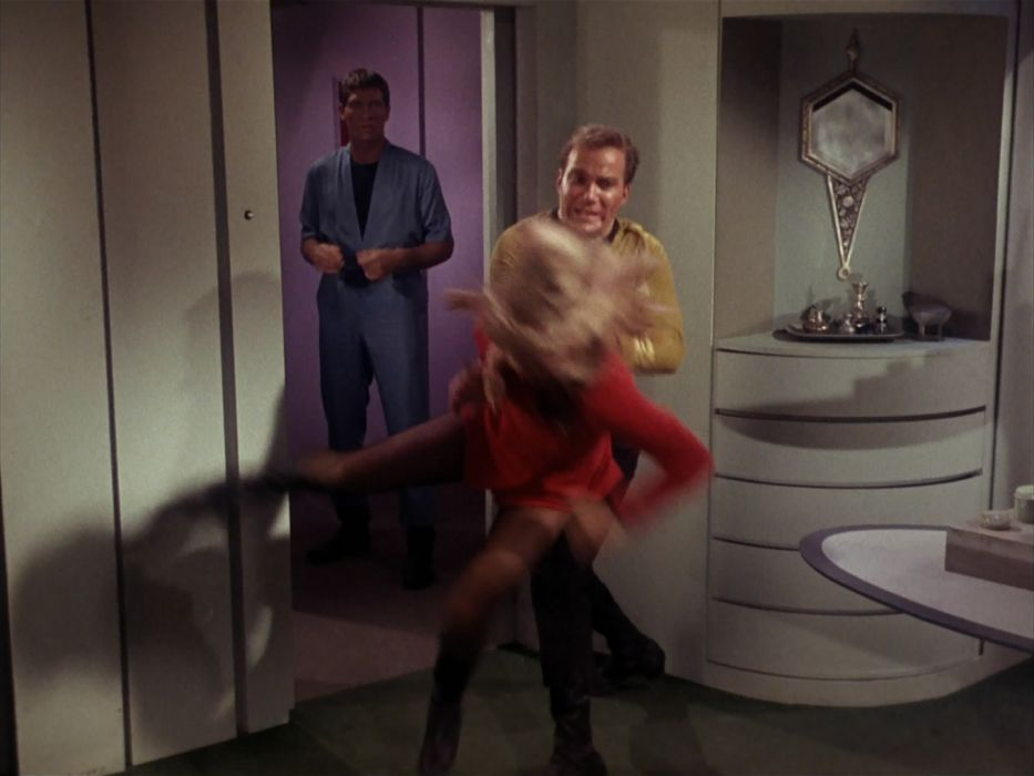 STAR TREK sci-fi action adventure television the-enemy-within (181) wallpaper