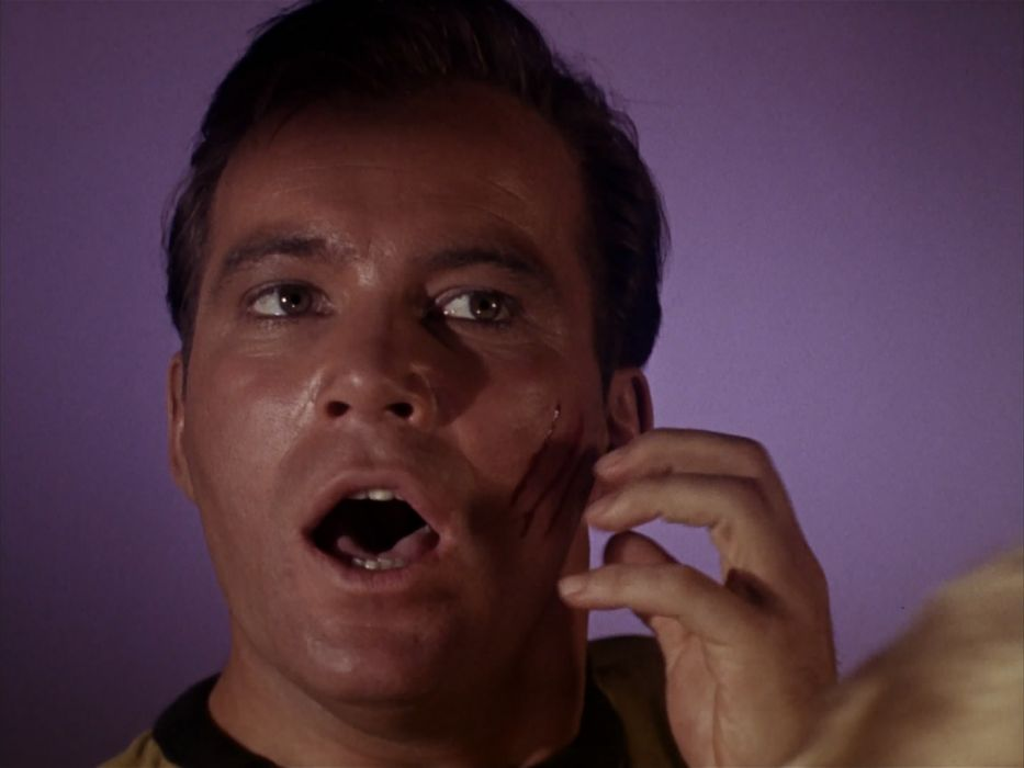 STAR TREK sci-fi action adventure television the-enemy-within (179) wallpaper