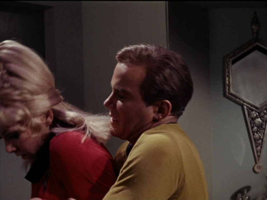 STAR TREK sci-fi action adventure television the-enemy-within (166) wallpaper