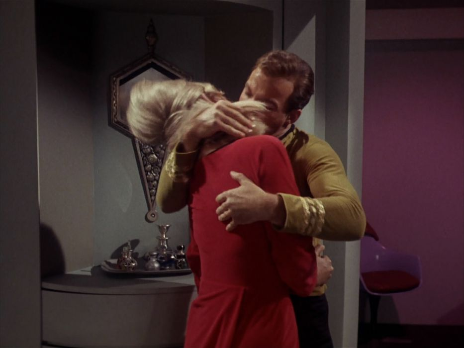 STAR TREK sci-fi action adventure television the-enemy-within (161) wallpaper