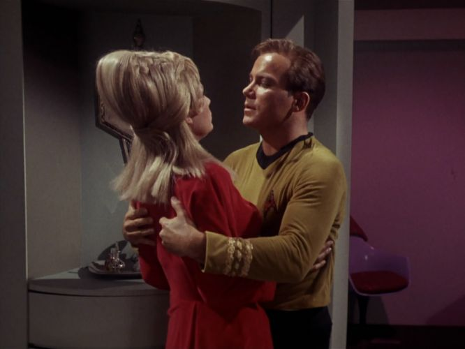 STAR TREK sci-fi action adventure television the-enemy-within (159) wallpaper