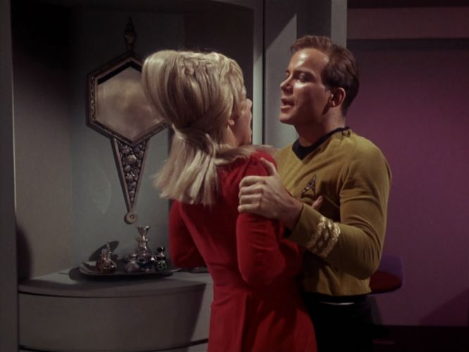 STAR TREK sci-fi action adventure television the-enemy-within (155) wallpaper
