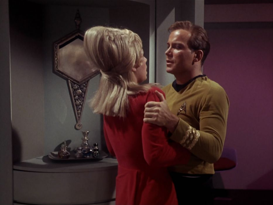 STAR TREK sci-fi action adventure television the-enemy-within (154) wallpaper