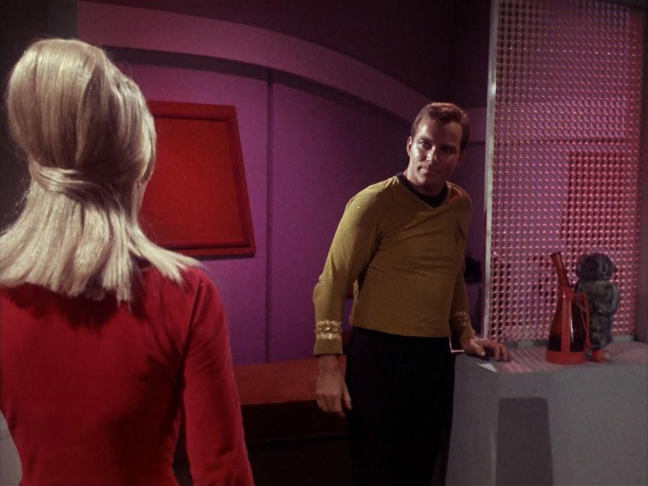 STAR TREK sci-fi action adventure television the-enemy-within (148) wallpaper