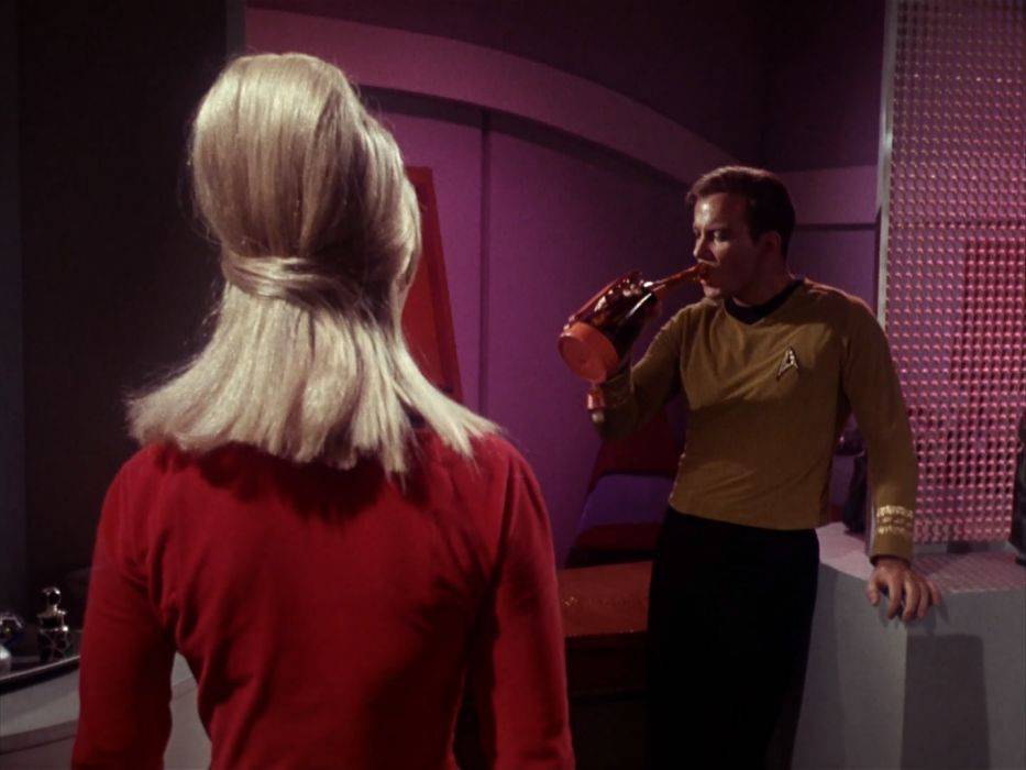 STAR TREK sci-fi action adventure television the-enemy-within (143) wallpaper