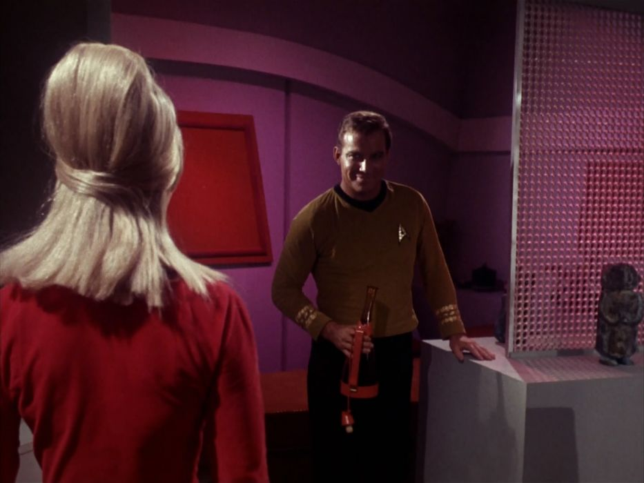 STAR TREK sci-fi action adventure television the-enemy-within (142) wallpaper