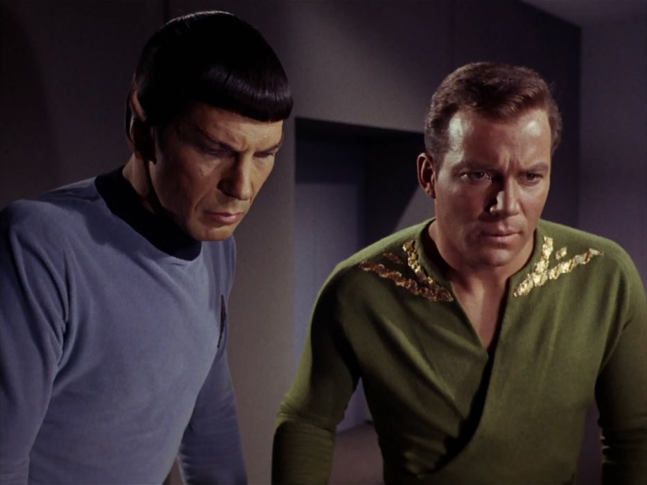 STAR TREK sci-fi action adventure television the-enemy-within (127) wallpaper