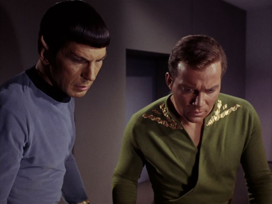 STAR TREK sci-fi action adventure television the-enemy-within (126) wallpaper