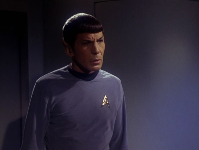 STAR TREK sci-fi action adventure television the-enemy-within (105) wallpaper