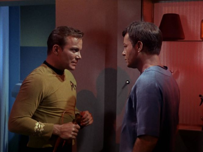 STAR TREK sci-fi action adventure television the-enemy-within (85) wallpaper