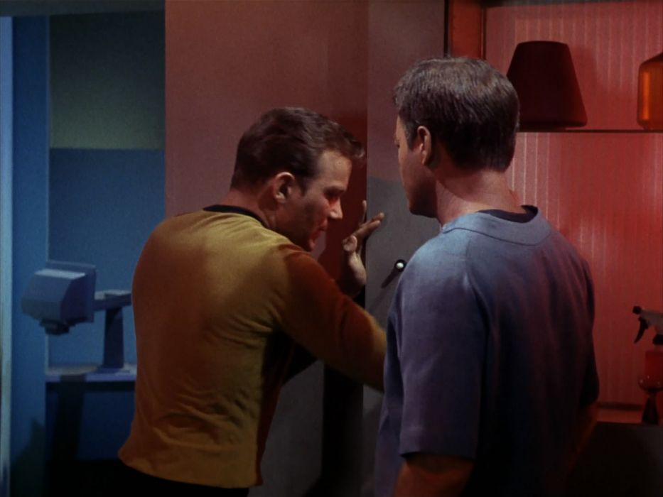 STAR TREK sci-fi action adventure television the-enemy-within (83) wallpaper