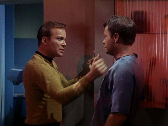 STAR TREK sci-fi action adventure television the-enemy-within (81) wallpaper