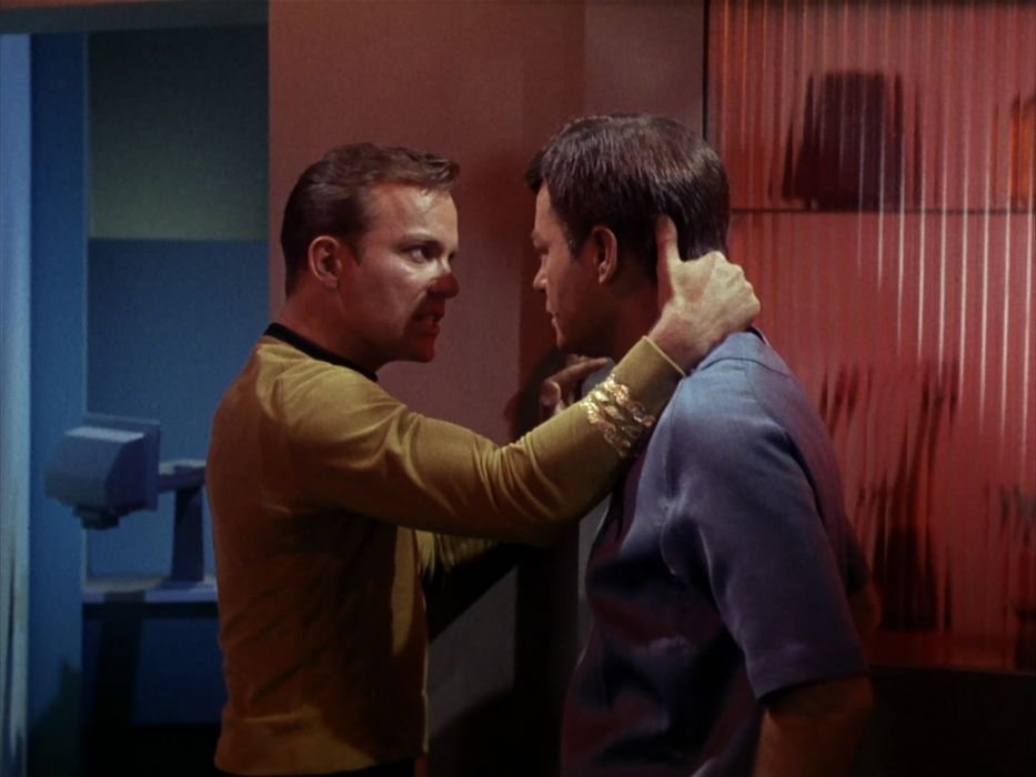 STAR TREK sci-fi action adventure television the-enemy-within (80) wallpaper