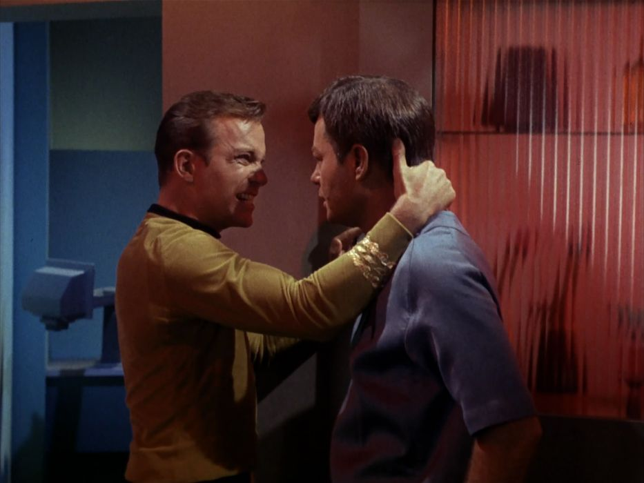 STAR TREK sci-fi action adventure television the-enemy-within (79) wallpaper