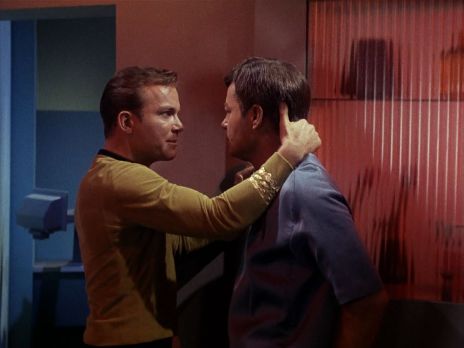 STAR TREK sci-fi action adventure television the-enemy-within (78) wallpaper