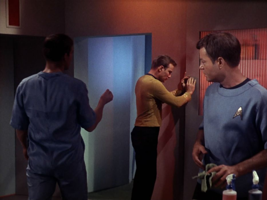 STAR TREK sci-fi action adventure television the-enemy-within (76) wallpaper