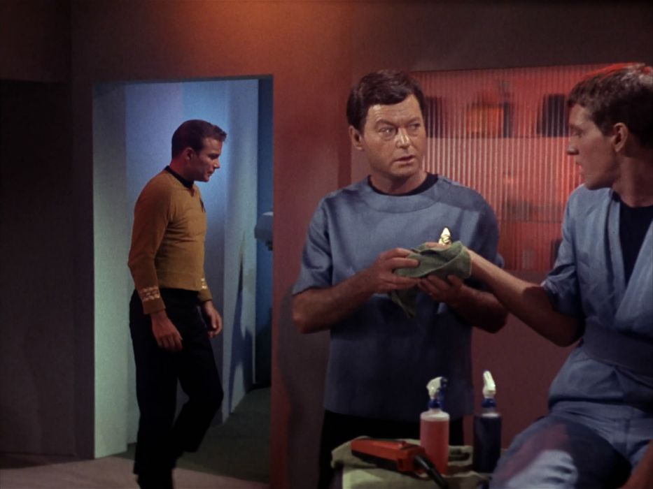 STAR TREK sci-fi action adventure television the-enemy-within (74) wallpaper