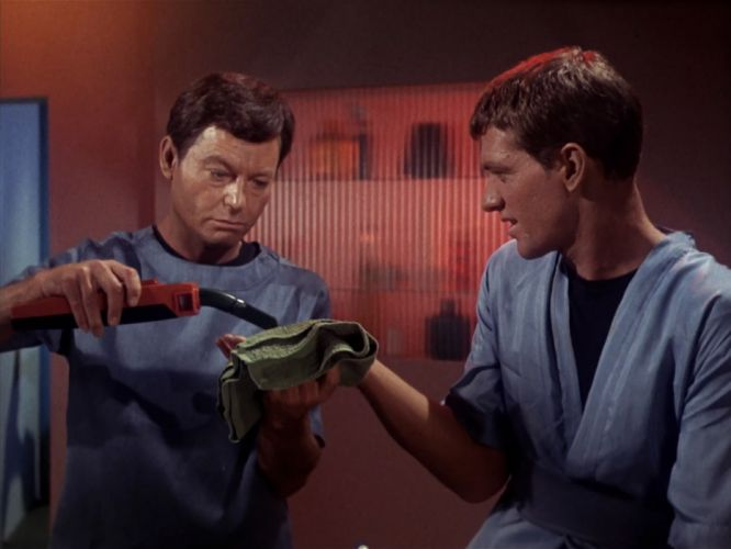 STAR TREK sci-fi action adventure television the-enemy-within (70) wallpaper
