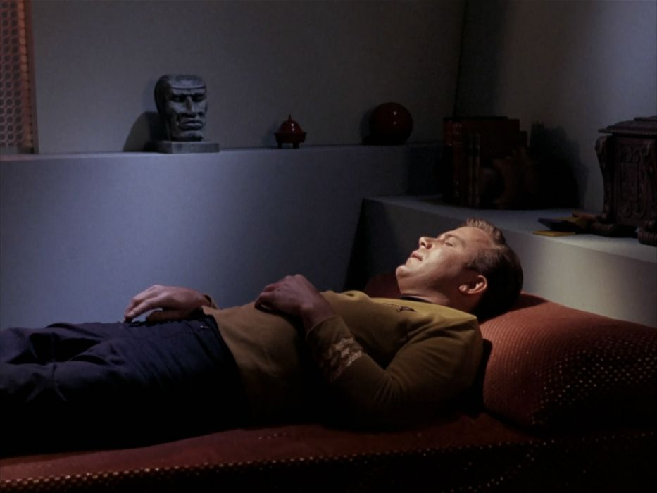 STAR TREK sci-fi action adventure television the-enemy-within (69) wallpaper