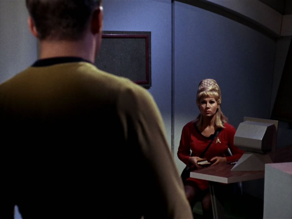 STAR TREK sci-fi action adventure television the-enemy-within (63) wallpaper