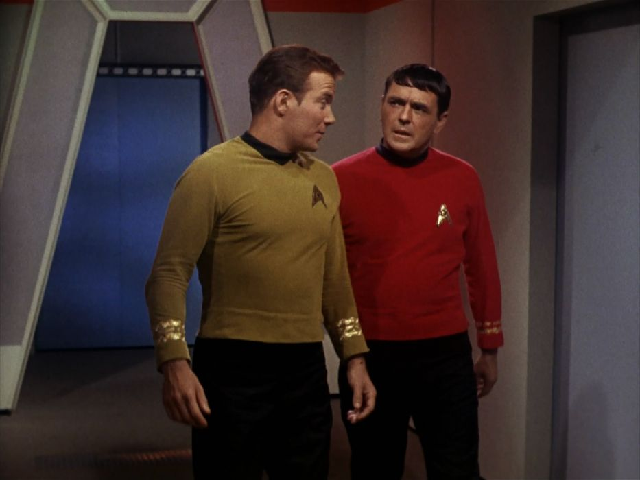 STAR TREK sci-fi action adventure television the-enemy-within (59) wallpaper