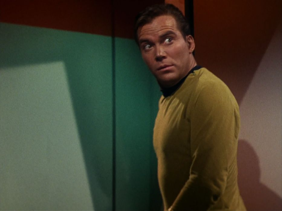 STAR TREK sci-fi action adventure television the-enemy-within (55) wallpaper