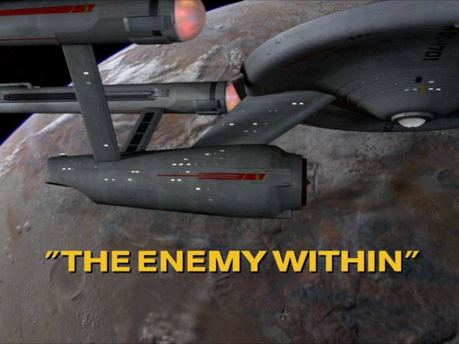 STAR TREK sci-fi action adventure television the-enemy-within (43) wallpaper