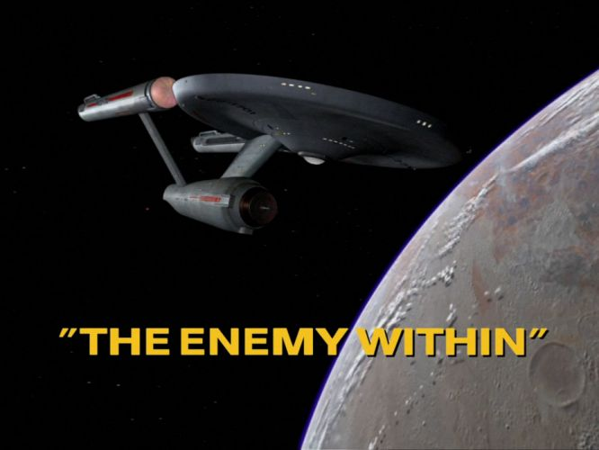 STAR TREK sci-fi action adventure television the-enemy-within (42) wallpaper