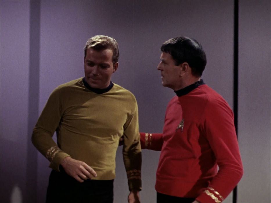 STAR TREK sci-fi action adventure television the-enemy-within (33) wallpaper