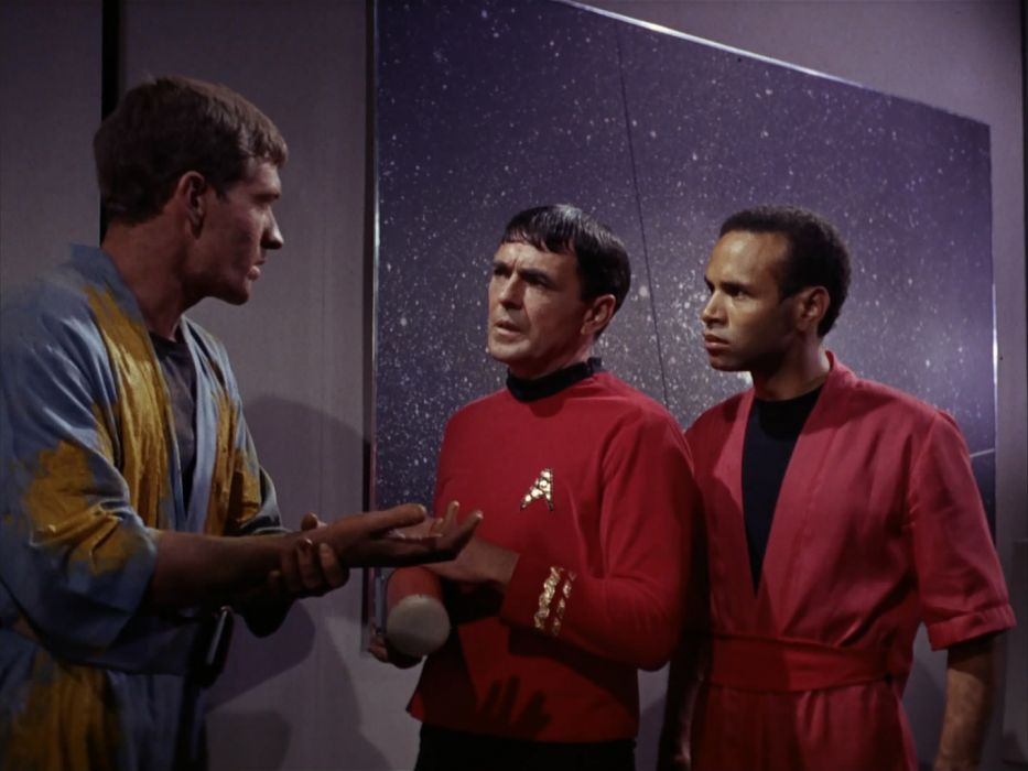 STAR TREK sci-fi action adventure television the-enemy-within (29) wallpaper
