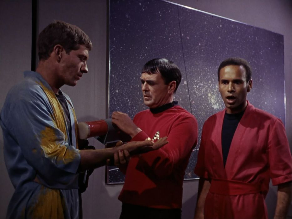 STAR TREK sci-fi action adventure television the-enemy-within (28) wallpaper