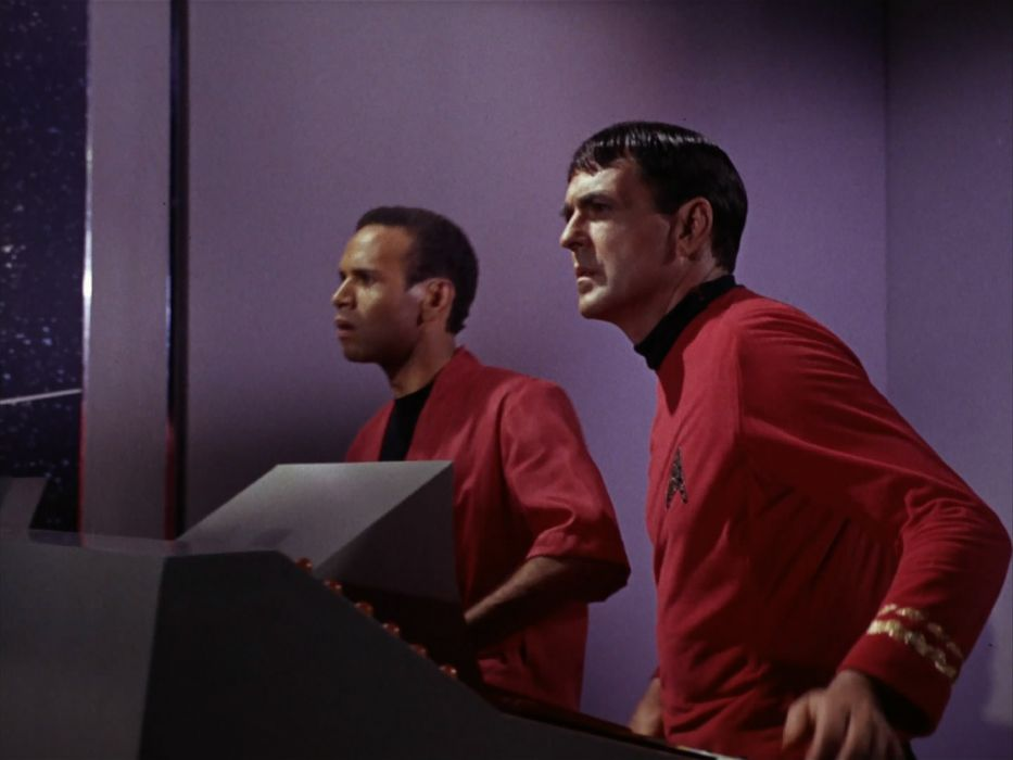 STAR TREK sci-fi action adventure television the-enemy-within (26) wallpaper