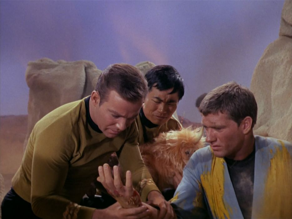 STAR TREK sci-fi action adventure television the-enemy-within (12) wallpaper