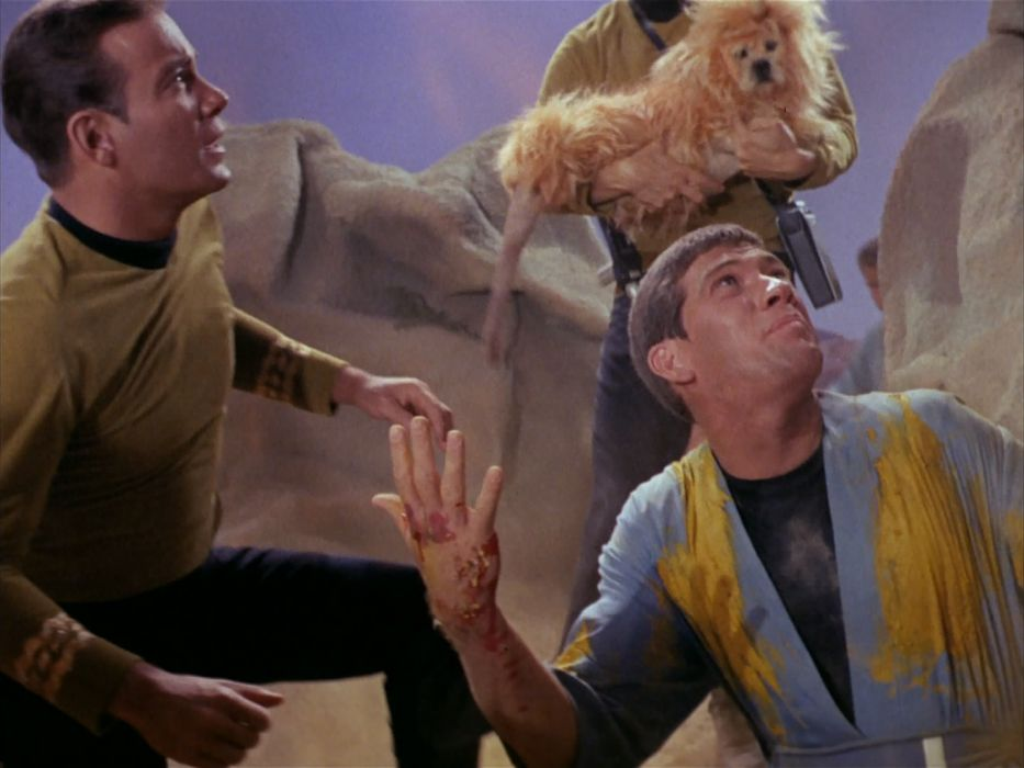 STAR TREK sci-fi action adventure television the-enemy-within (11) wallpaper