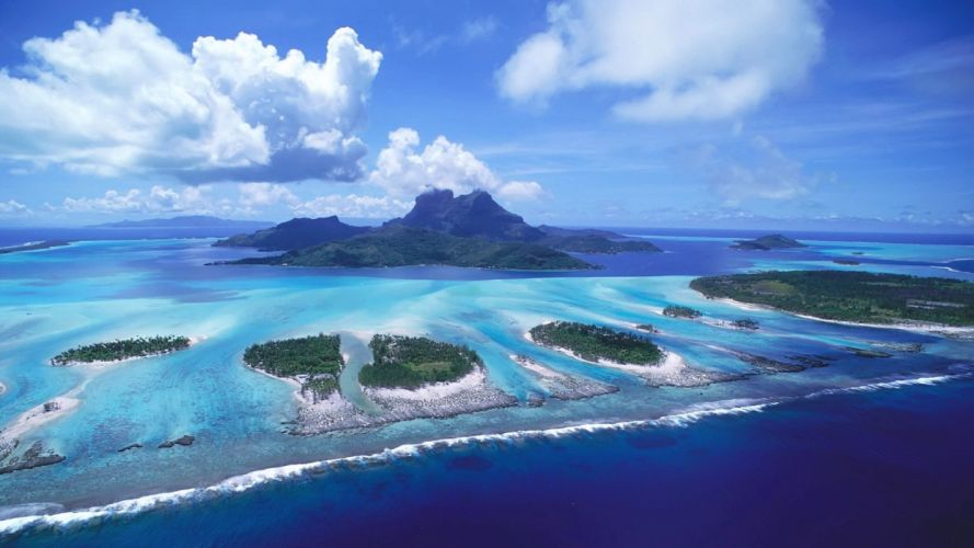 islands wallpaper