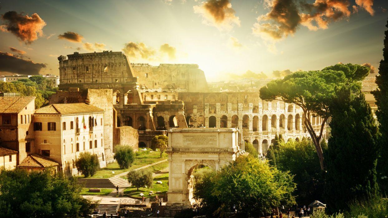 Roma wallpaper