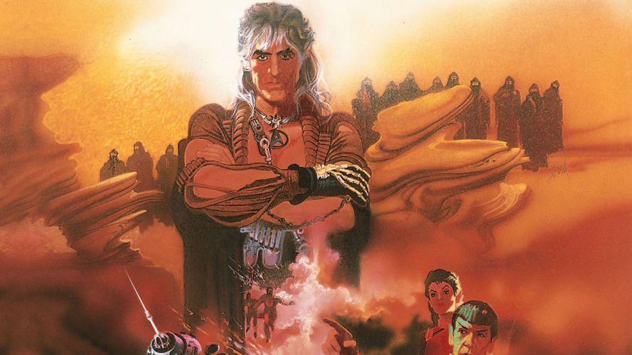 STAR TREK sci-fi action adventure wrath-of-khan wrath khan fantasy warrior h wallpaper