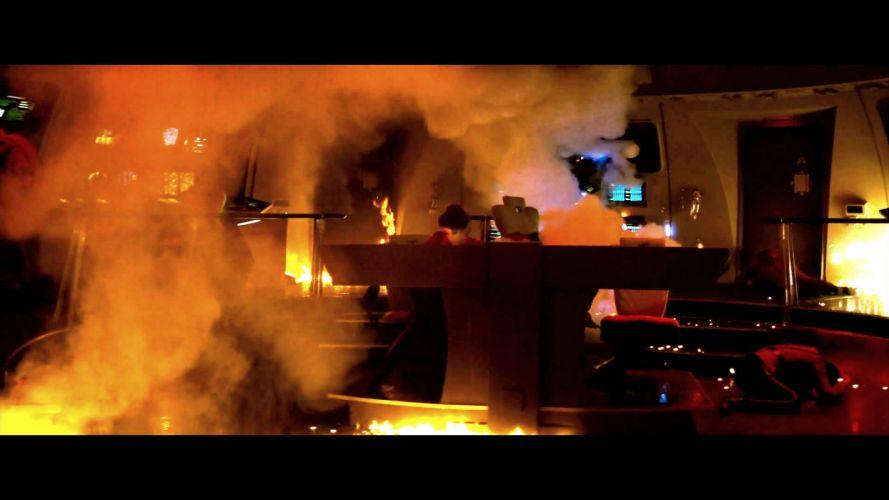 STAR TREK sci-fi action adventure wrath-of-khan wrath khan fire gh wallpaper