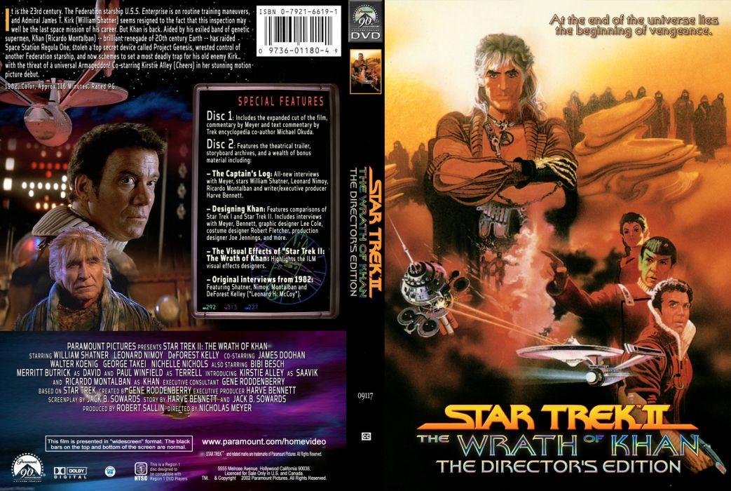 STAR TREK sci-fi action adventure wrath-of-khan wrath khan poster    t wallpaper