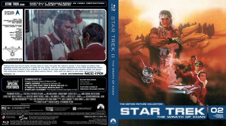 STAR TREK sci-fi action adventure wrath-of-khan wrath khan poster g wallpaper
