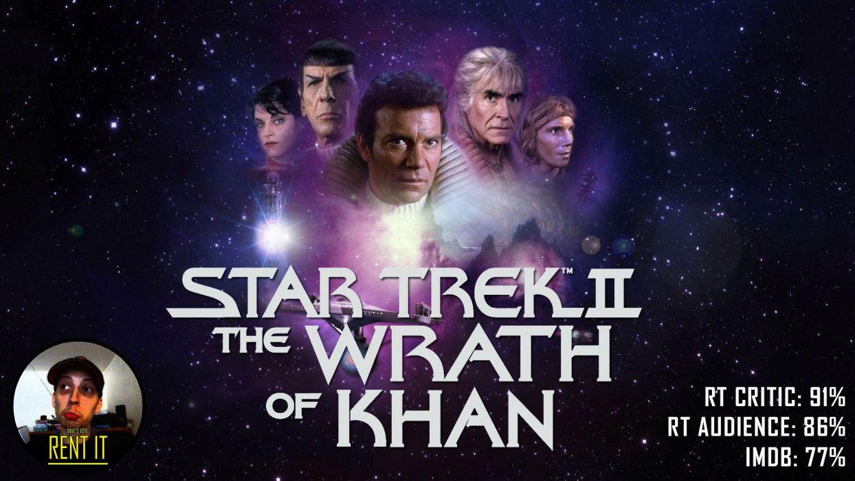 STAR TREK sci-fi action adventure wrath-of-khan wrath khan poster  y wallpaper
