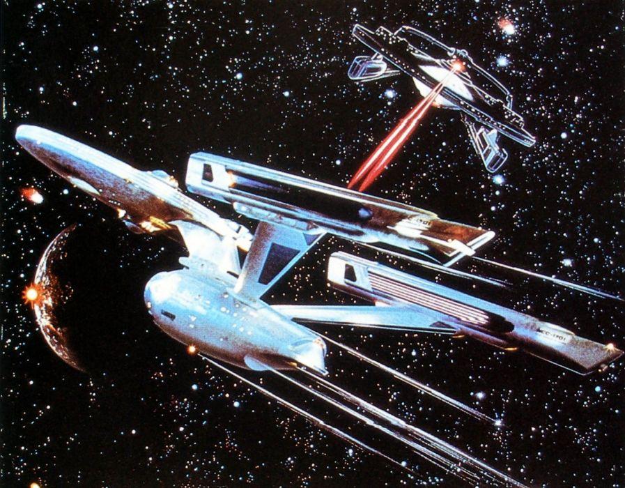 STAR TREK sci-fi action adventure wrath-of-khan wrath khan spaceship battle  gd wallpaper