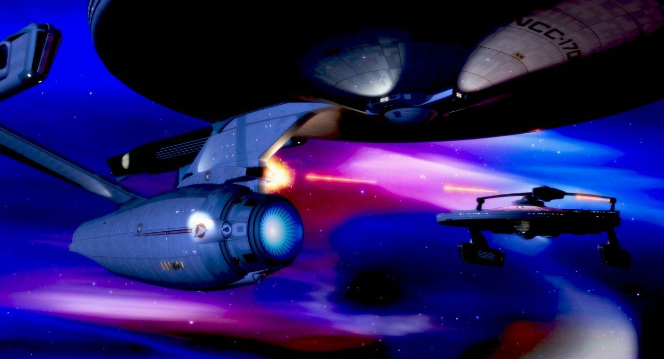 STAR TREK sci-fi action adventure wrath-of-khan wrath khan spaceship stars space    h wallpaper