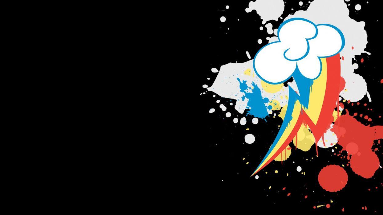 My Little Pony Rainbow Dash Cutie Mark Wallpaper 1920x1080