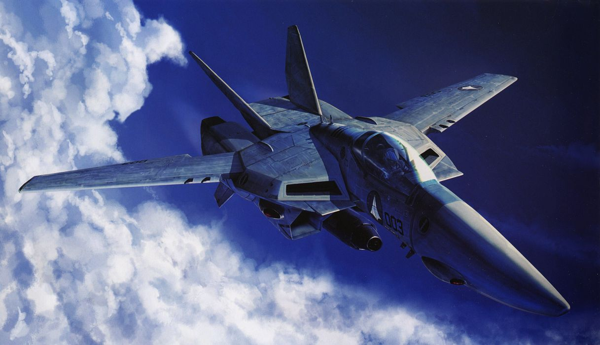 aircraft Macross vehicles wallpaper