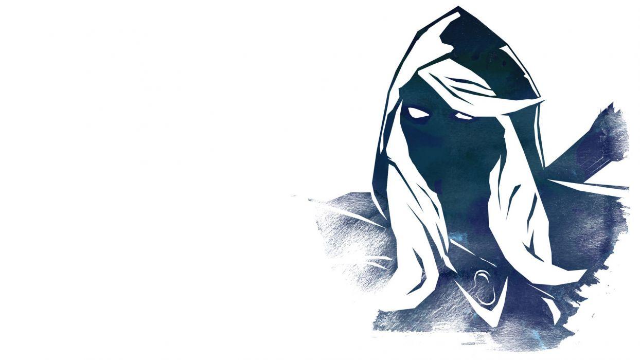 video games Valve Corporation DotA drow DotA 2 vidya white background Drow Ranger wallpaper