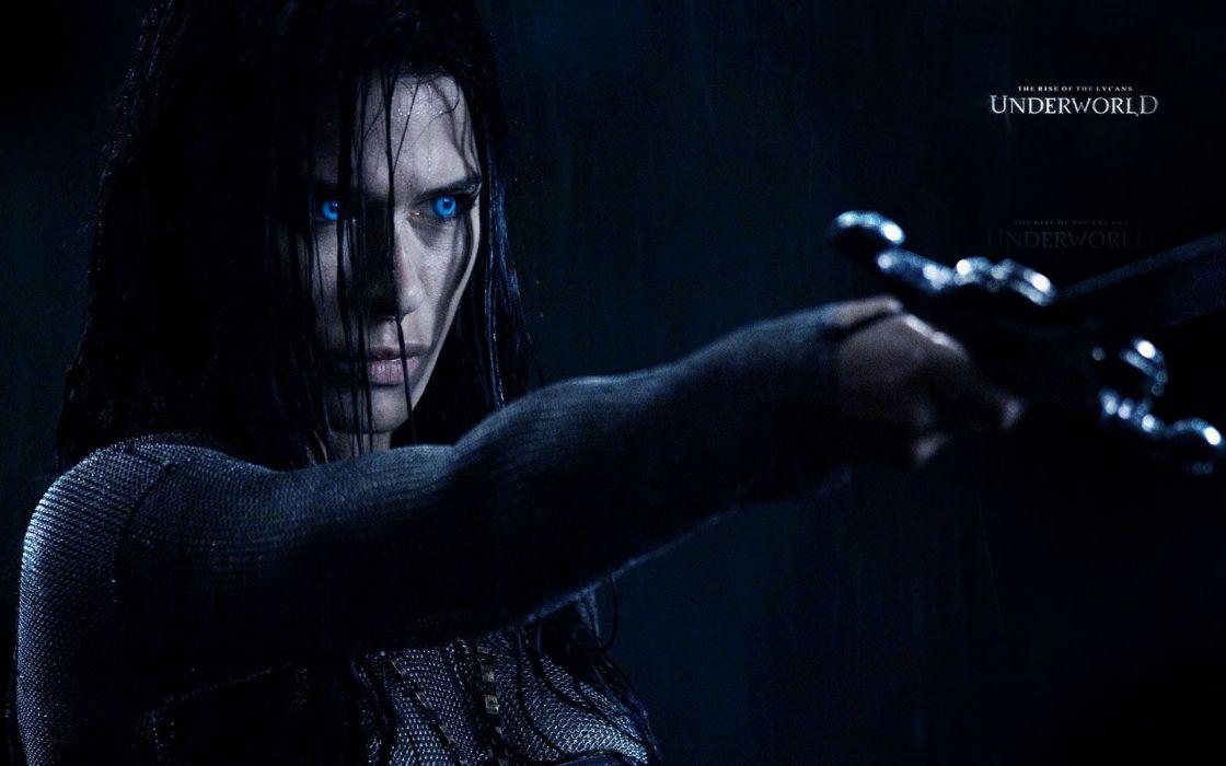 brunettes women movies celebrity Underworld vampires Rhona Mitra Underworld Rise of the Lycans wallpaper