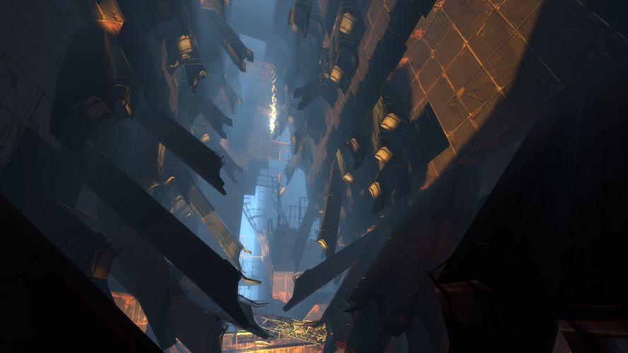video games Portal wallpaper
